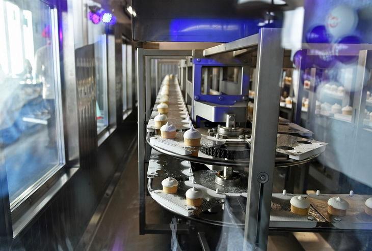 Самая высокая фабрика мороженого