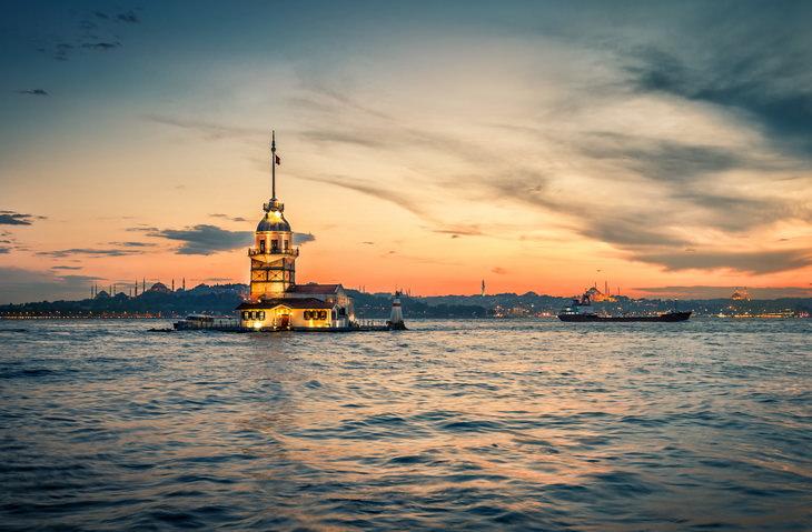 Девичья башня. Стамбул