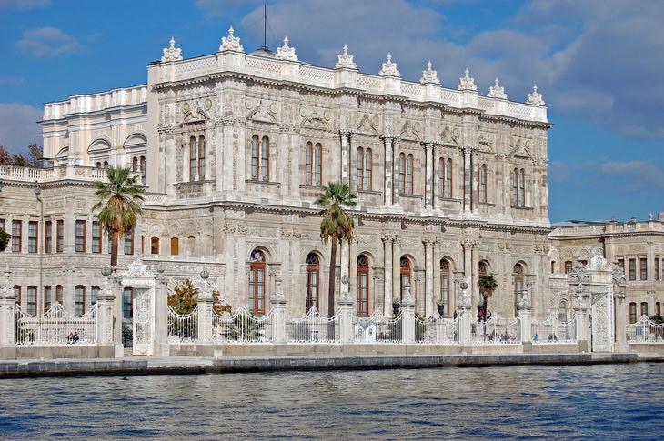 Дворец Долмабахче. Стамбул