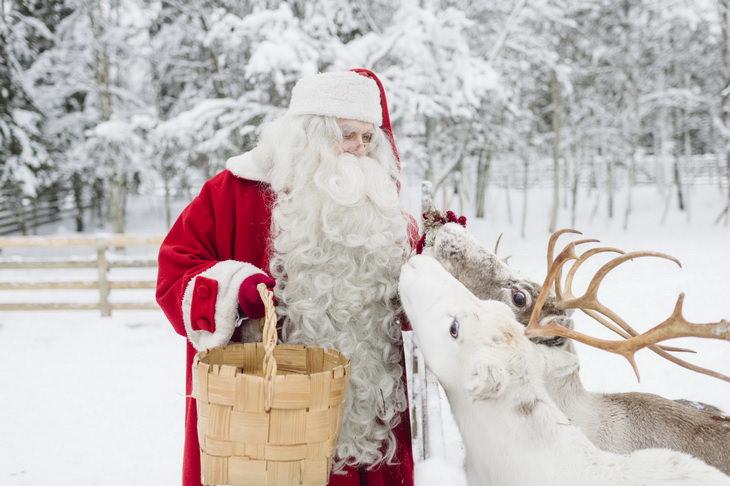 Санта-Клаус в Лапландии