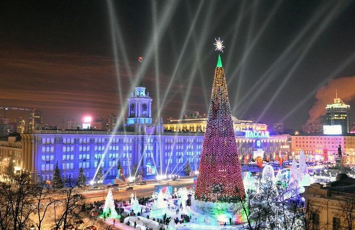 Новогодний Екатеринбург