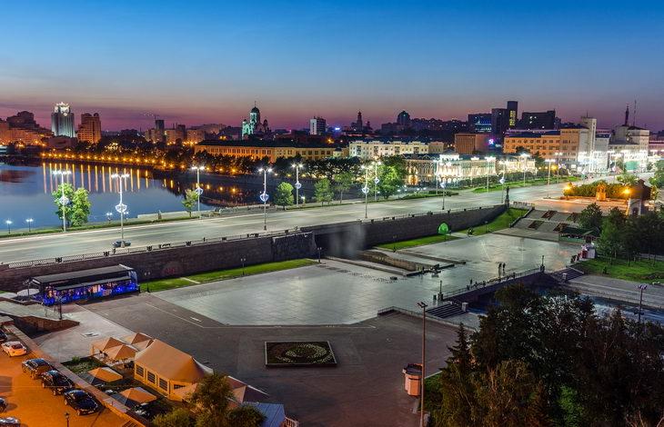 Плотинка. Екатеринбург