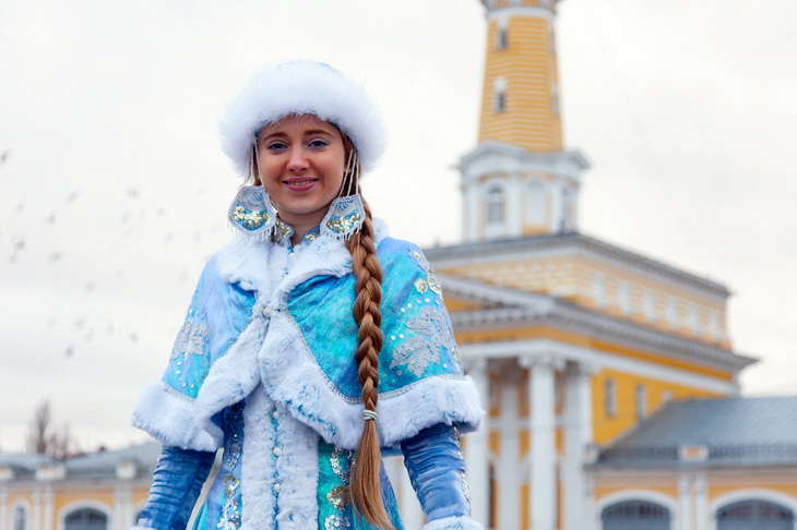 Снегурочка в Костроме