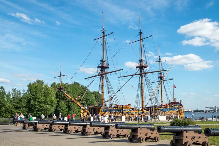 Корабль-музей Гото Предестинация в Воронеже