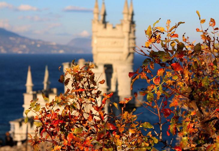 Крым. Ялта. Ласточкино гнездо
