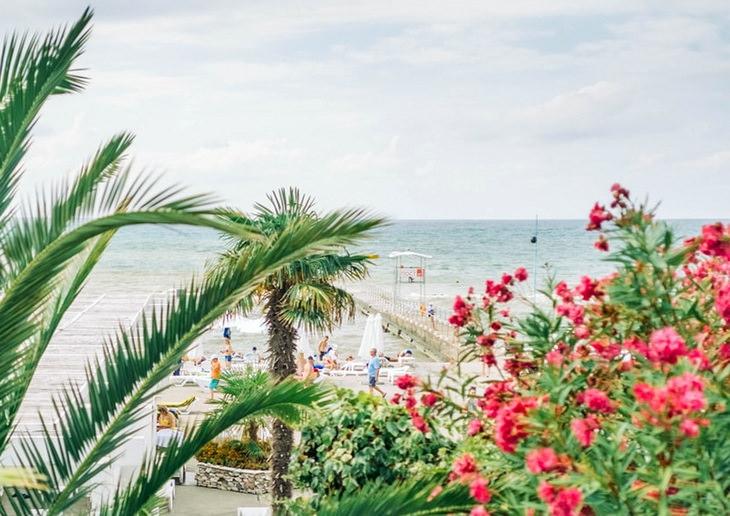 Сочи. Пляж